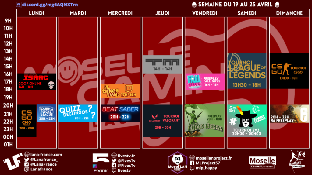 Moselle Gaming Online Easter 2021